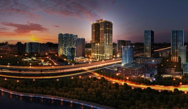 Mỹ Đình là một trong những khu vực phát triển của Thủ đô.